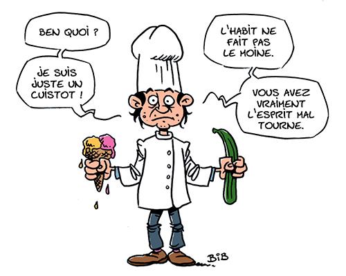 Cuisinier-Pédophile
