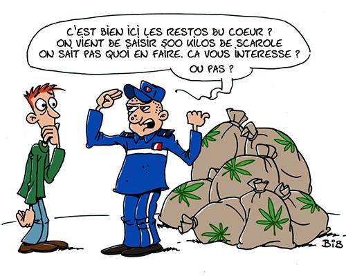 Gendarmerie-Saisie-Restos-Du-Coeur